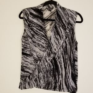 Kenneth Cole splice blouse